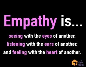 """What """"empathy"""" means"""